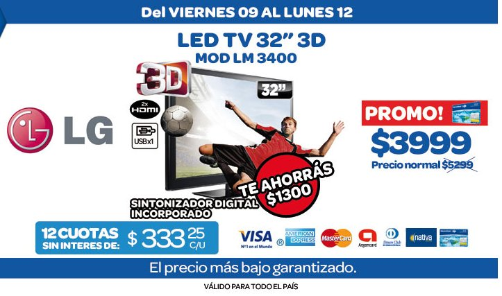 ofertas y promos en argentina promos carrefour fin de semana. Black Bedroom Furniture Sets. Home Design Ideas