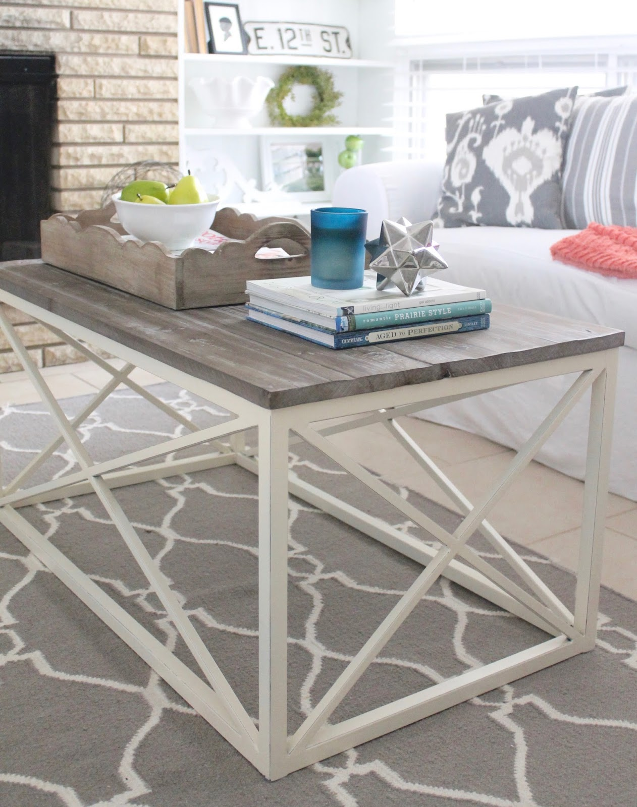 12th And White Modern Farmhouse Coffee Table