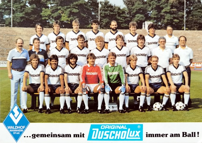 WALDHOF MANNHEIM 1983-84.