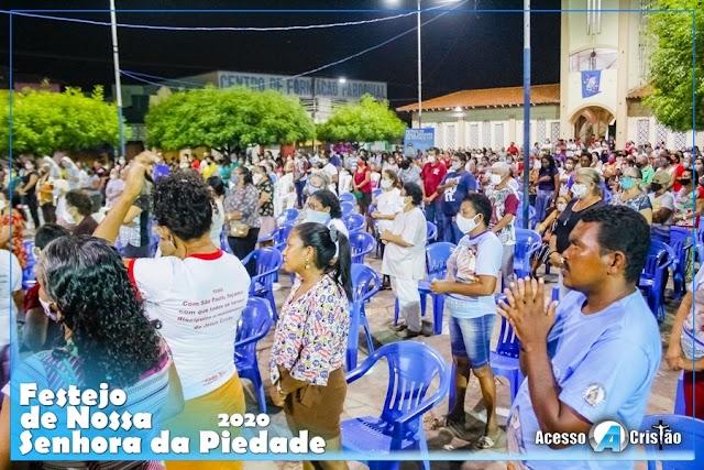 Momentos | Nona noite do Festejo de Nossa Senhora da Piedade 2020 - Coroatá, MA