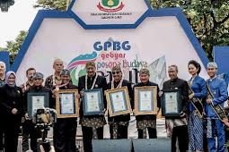 Pertunjukan Musik Celentung di Gebyar Pesona Budaya Garut (GPBG) 2019 Pecahkan Rekor Dunia