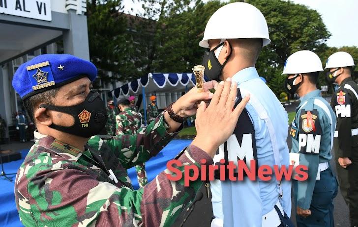 Danlantamal VI Pimpin Upacara Gelar Operasi Gaktib dan Yustisi Polisi Militer TA. 2021
