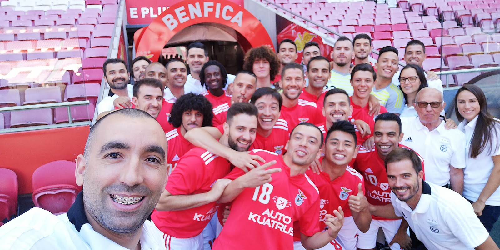 87d2b3ae47 Futsal - Pré-Época 2018 2019 - Eu Sou do Benfica!