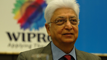 Azim Premji is logging out on July 30