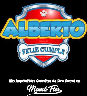 Logo de Paw Patrol: Alberto