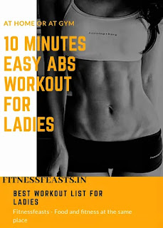 Abs workout for women-Easy 10 minutes workout