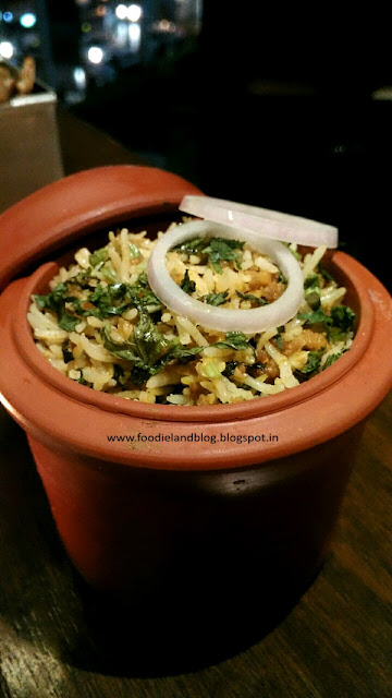 Awadhi Gosht Keema Pulao @ The New Menu @ Salt | Koramangala | Bangalore