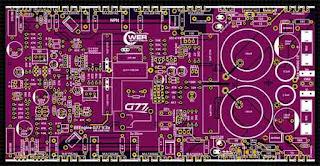 PCB Layout TD EEEngine G77  PSU 160V DC CT