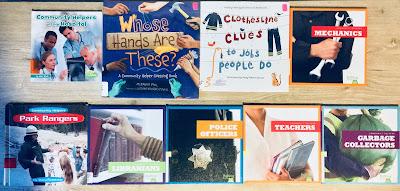 Montessori-friendly Community Helpers Books