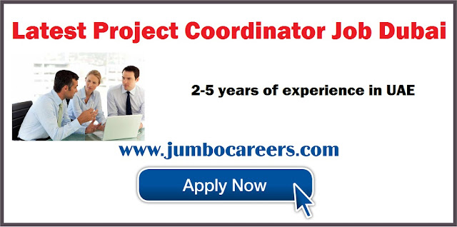 Project Coordinator Job Dubai