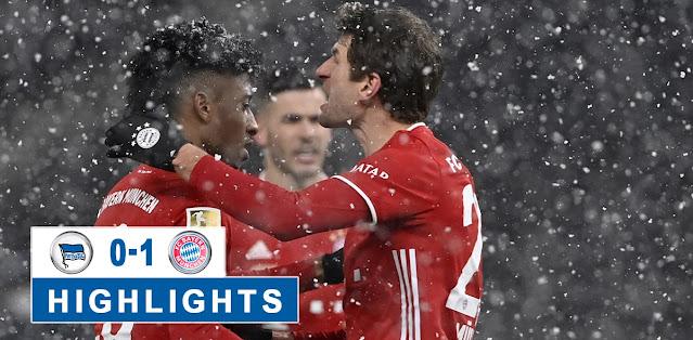 Hertha BSC vs Bayern München – Highlights