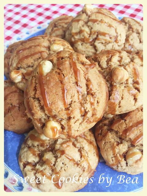 Cookies de avellanas y toffe