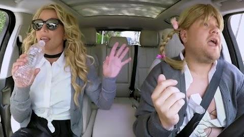 tutto il carpool karaoke con britney spears, attenzione perché canta
