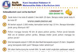 LENGKAP !!! Kunci Jawaban Halaman 51 Matematika Kelas 5 Kurikulum 2013