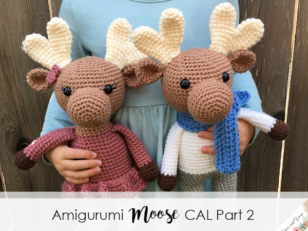 Amigurumi Moose CAL Part 2