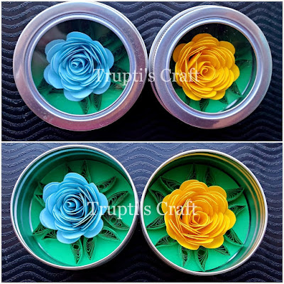 Paper Flower Magnet