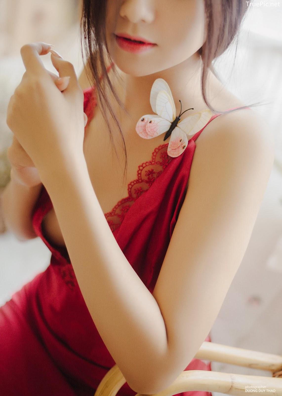 Vietnamese hot girl model Hua Thao Nguyen - She is a beautiful butterfly - Picture 8