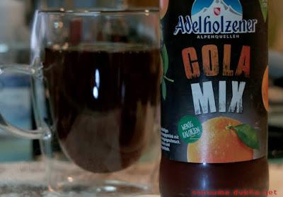 Adelholzener Cola-Mix - обзор колы с апельсином