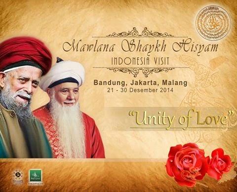 Kunjungan Mawlana Syekh Hisyam Kabbani 21-30 Desember 2014