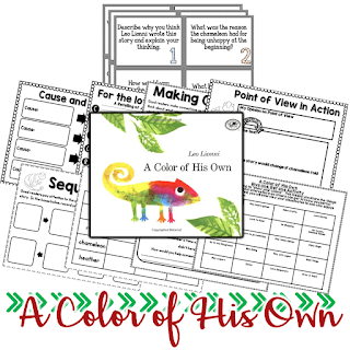 A Color of His Own is one of Lionni's best. Celebrate the individuals in your classroom and what makes each of them special with this timeless classic. This post has teaching ideas for it and six other Lionni titles.