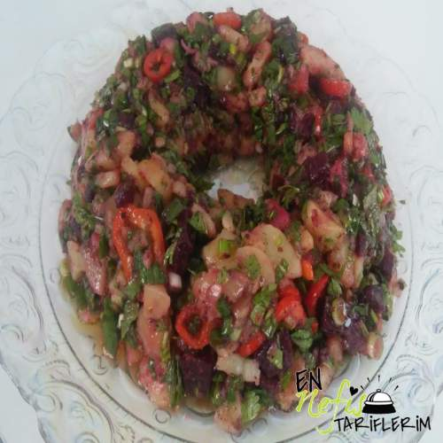 Pancarlı Patates Salatası Tarifi