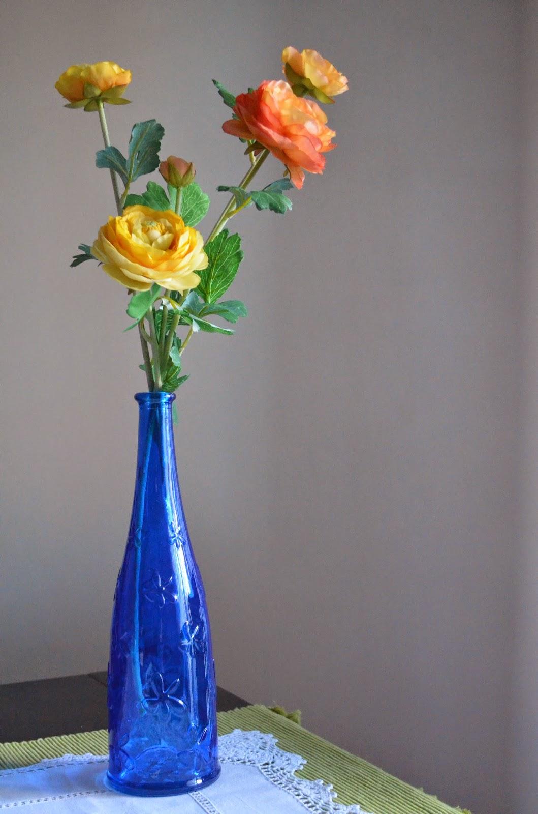 Flores en el salón