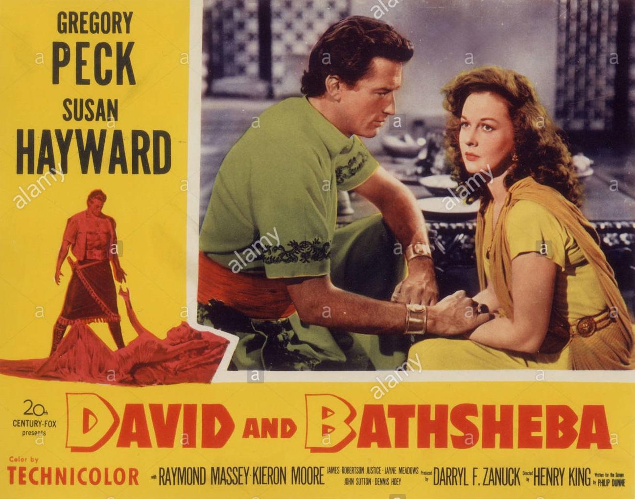 Papo de Cinema: DAVID E BETSABÁ (David and Bathsheba) 1951