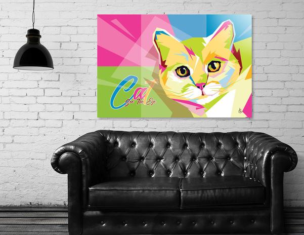 WPAP Anomali Cat - See The Eye