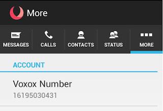 انشاء رقم وهمي امريكي لتفعيل الواتس اب voxox موقع برنامج يعطيك جاهز