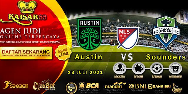 Prediksi Bola Terpercaya Liga (MLS) Austin Vs Seattle Sounders 23 Juli 2021