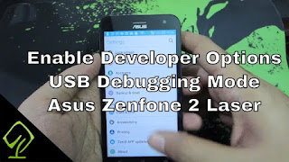 Cara Munculkan Developer Option di Asus Zenfone 2