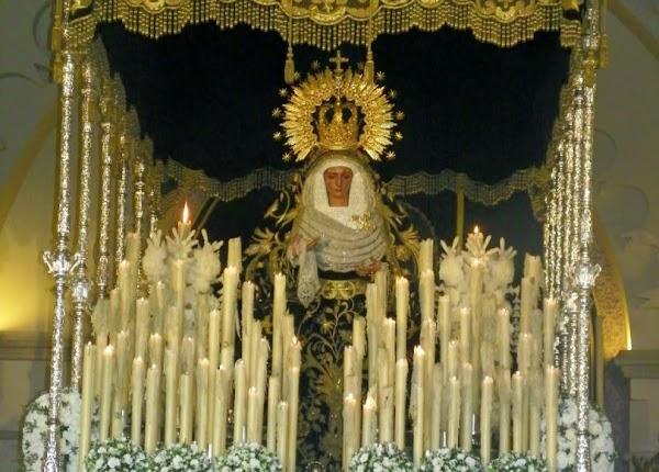 Anuncian la coronación canónica de la Virgen de las Angustias de Sanlúcar la Mayor en 2020