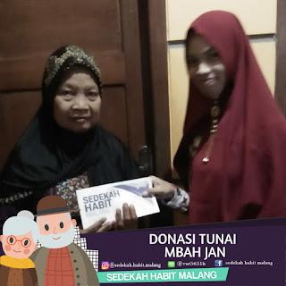 Mbah Jan : Donasi Tunai