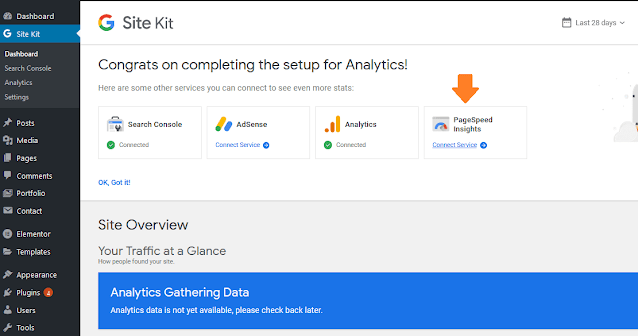How To View Google Analytics In WordPress Dashboard | Site Kit By Google 22