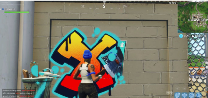 Fortnite poster locations: Where to Spray over different Carbide or Omega posters