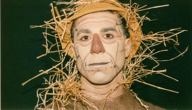 maquiagem masculina facil halloween espantalho