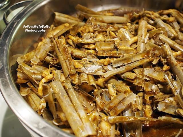Kam Heong Bamboo Clams