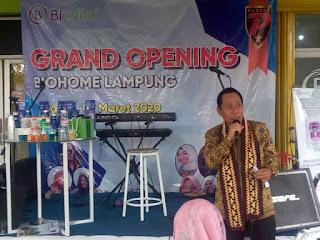 Grand Opening: Biohome Lampung Diresmikan, Sehatkan Masyarakat
