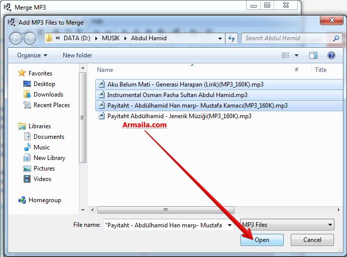 Cara Menggabungkan File Mp3 Menjadi 1 Di Pc Offline