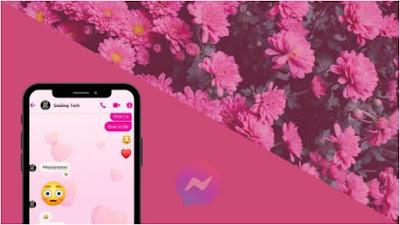 كيفية, تغيير, لون, المظهر, لـ Facebook ,Messenger