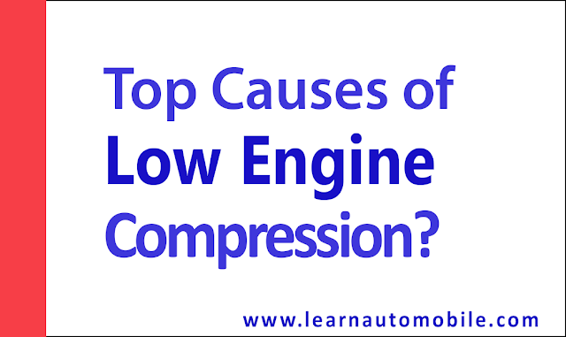 Top Causes of Low Engine Compression