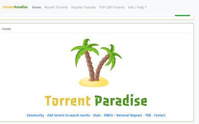 Torrent paradise - Secrets deep web