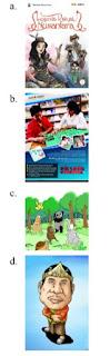 soal pilihan contoh gambar sampul kartun