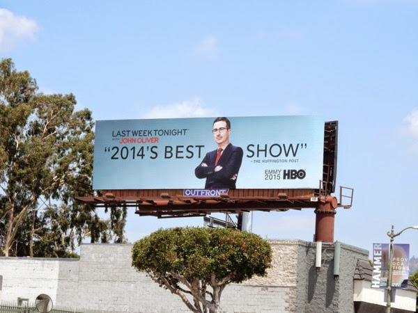 Last Week Tonight John Oliver Emmy 2015 billboard