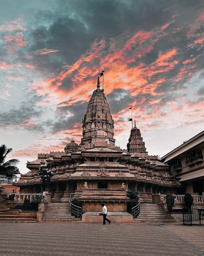 Ekvira Devi Temple in Amravati, Maharashtra / Religious tourist place in India