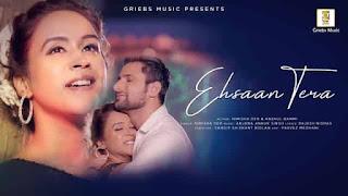 एहसान तेरा Ehsaan Tera Lyrics In Hindi - Nimisha Deb