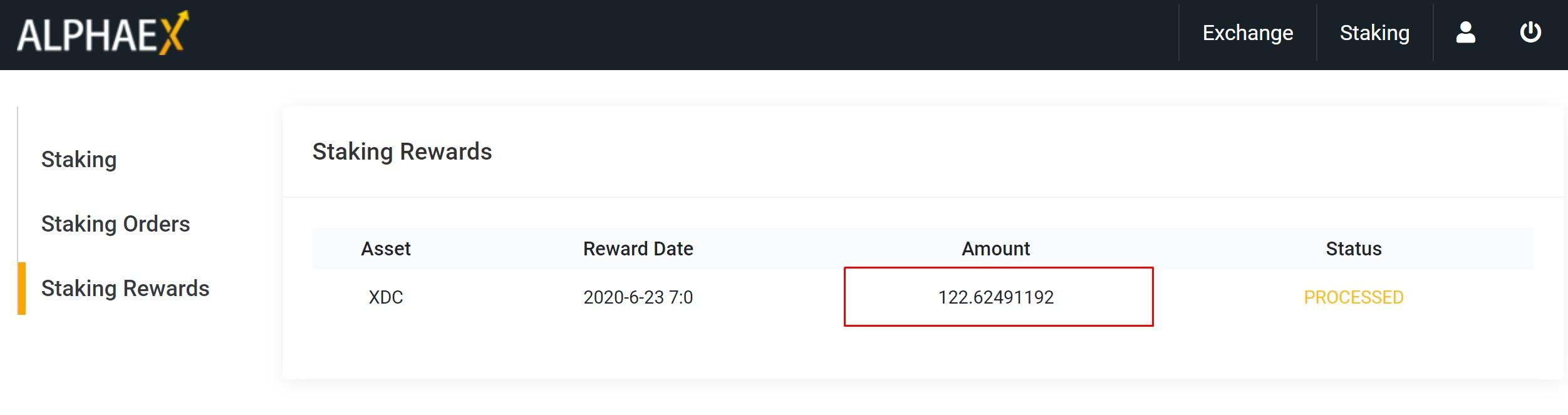 Kiểm tra phần thưởng nhận được mỗi ngày ở Staking Rewards