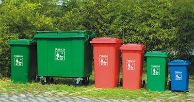 lưu ý khi mua thùng rác nhựa công cộng