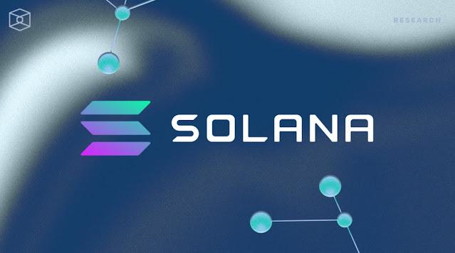 Ilustrasi Gambar Solana (SOL) Cryptocurrency