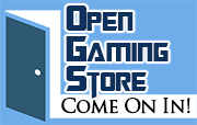 My Open Gaming Store page